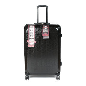 "Constellation LG00659LBLKSDMIL Mosaic Effect ABS Hard Shell Large Suitcase, 28"", Black"