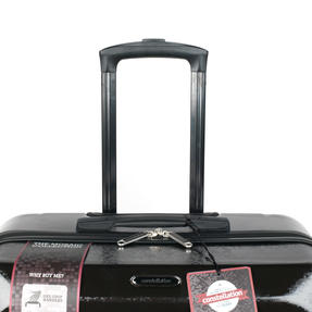"Constellation Mosaic Two Piece Suitcase Set, 20""/28"", Black Thumbnail 4"