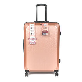 """Constellation LG00659LRGSDMIL Mosaic Effect ABS Hard Shell Large Suitcase, 28"""", Rose Gold"""
