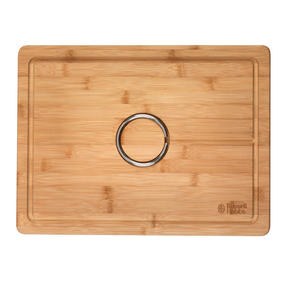 Russell Hobbs BW07272 Bamboo Carving Board with Reversible Spikes, 40 x 30 cm