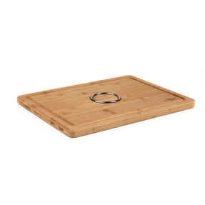 Russell Hobbs BW07272 Bamboo Carving Board with Reversible Spikes, 40 x 30 cm Thumbnail 4
