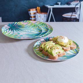 Cambridge COMBO-3152 Kayan Bamboo Eco Friendly Plates and Bowls Tableware, 8 Piece Thumbnail 7