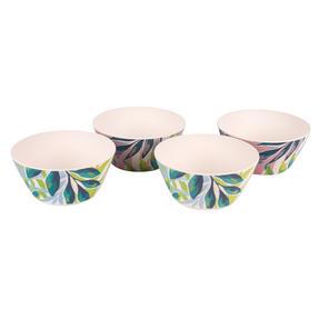 Cambridge COMBO-3152 Kayan Bamboo Eco Friendly Plates and Bowls Tableware, 8 Piece Thumbnail 8