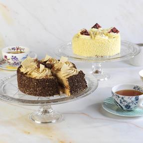 RCR COMBO-1871 Stella Crystal Cake Display and Decorating Stand, Set of 2 Thumbnail 3