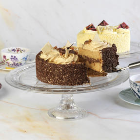 RCR COMBO-1871 Stella Crystal Cake Display and Decorating Stand, Set of 2 Thumbnail 6