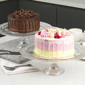 RCR COMBO-1871 Stella Crystal Cake Display and Decorating Stand, Set of 2 Thumbnail 7