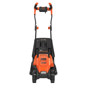 Black + Decker BEMW451BHGB Lawn Mower with Bike Handle, 1200 W, Orange, 32 cm Thumbnail 6