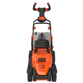 Black + Decker BEMW461ESGB Easy Steer Lawn Mower, 1400 W, Orange, 34cm Thumbnail 6