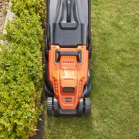 Black + Decker BEMW471ESGB Easy Steer Lawn Mower, 1600 W, Orange, 38cm Thumbnail 11