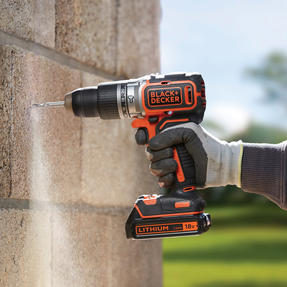Black + Decker BL188GB Brushless Two Gear Hammer Drill,18V, 400mA charger Thumbnail 9
