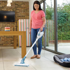 Black & Decker FSMH1300FX 7-in-1 Floor Extension Steam Mop, 1300 W, 500 ml Thumbnail 9