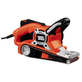 Black + Decker KA88GB Belt Sander, 720W, Orange