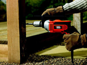 Black + Decker KR705K Percussion Hammer Drill, 750 W Thumbnail 5