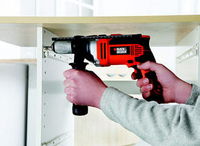 Black + Decker KR705K Percussion Hammer Drill, 750 W Thumbnail 6