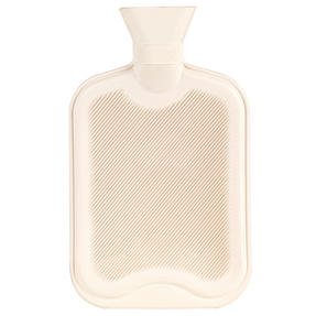 Beldray COMBO-3387 2 Litre Ribbed Hot Water Bottle, Set of 2, Cream Thumbnail 3