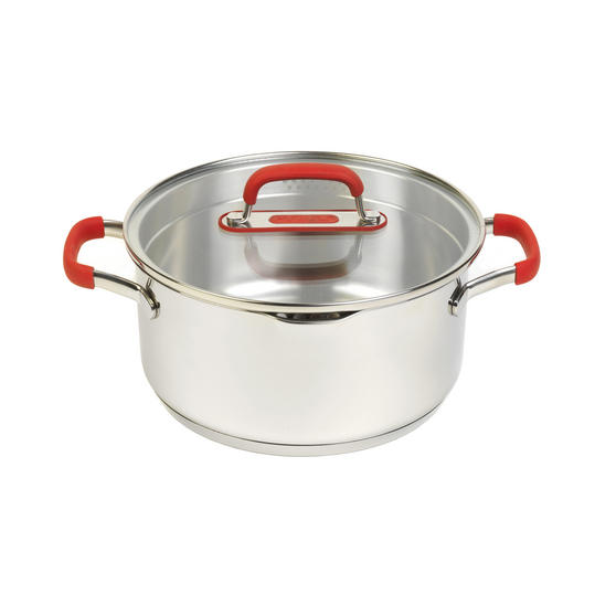 Pyrex P500732 Passion Casserole Dish With Lid, 20 cm, 2.9 L, Stainless Steel
