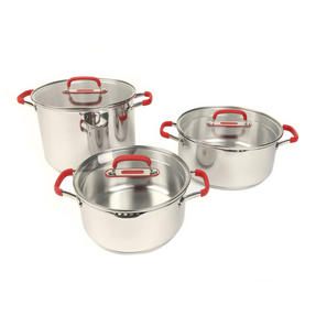 Pyrex P500734 Passion Stockpot With Lid, 24 cm, 7.8 L, Stainless Steel Thumbnail 3