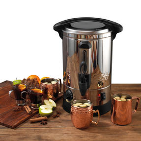 Giles & Posner EK2907 Hot Cider and Mulled Wine Dispenser Urn, 7 Litre Thumbnail 3
