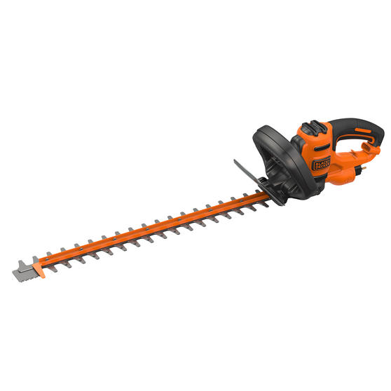 Black + Decker BEHTS451GB Double Blade Electric Hedge Trimmer, 550 W