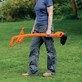 Black + Decker GL360GB Garden String Strimmer, 25 cm, 350 W, Orange Thumbnail 3