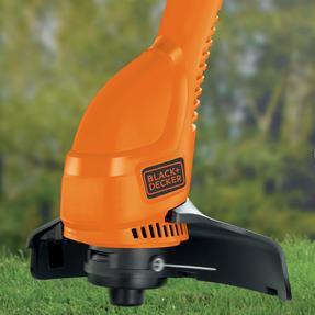 Black + Decker GL360GB Garden String Strimmer, 25 cm, 350 W, Orange Thumbnail 4
