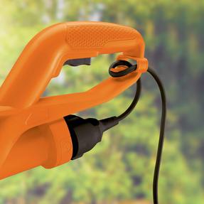 Black + Decker GL360GB Garden String Strimmer, 25 cm, 350 W, Orange Thumbnail 5