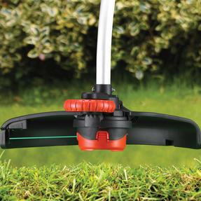 Black + Decker GL7033GB Electric Strimmer Grass Trimmer, 700 W, 33 cm Thumbnail 3