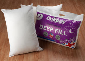 Beldray COMBO-3373 Deep Fill Pillow, Pack of 4, White Thumbnail 3