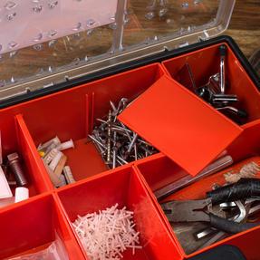 Black + Decker BDST170605 Eight Compartment Pro Organiser, 7.2 L, 42.2 cm x 33.5 cm x 10.6 cm Thumbnail 6