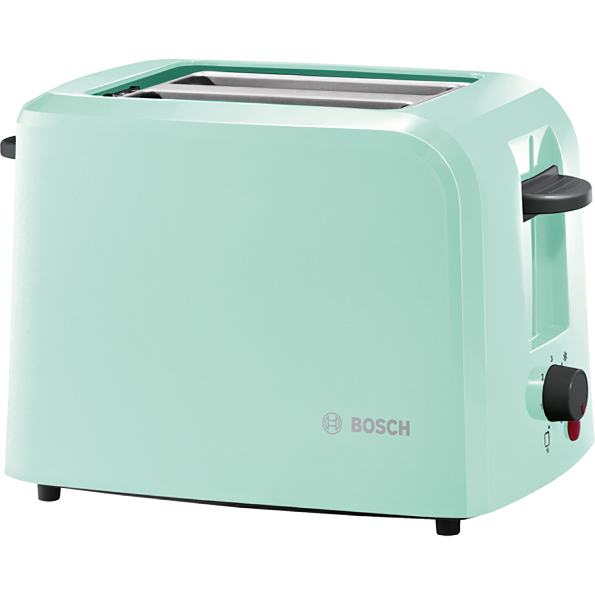 Country Kitchen Appliances: Bosch TAT3A012GB Country 2 Toaster, 980 W, Mint Green