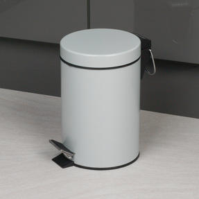 Beldray COMBO-2037 Dustpan and Brush with Stainless Steel Round Pedal Waste Bin Thumbnail 4