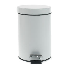 Beldray COMBO-2037 Dustpan and Brush with Stainless Steel Round Pedal Waste Bin Thumbnail 6