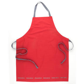 Progress COMBO-2072 Professional Kitchen Set with Oven Gauntlet, Neoprene Pan Handle Sleeve and Apron, Red Thumbnail 5