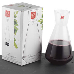 RCR COMBO-3429 Armonia Crystal Wine 1.8 Litre Carafe with Two Twist Wine Glasses Thumbnail 7