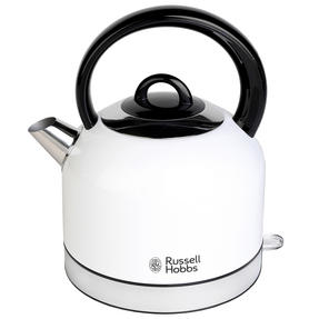 Russell Hobbs COMBO-3388 Oslo Traditional Kettle and Four Slice Toaster Breakfast Set, White Thumbnail 4