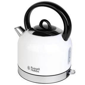 Russell Hobbs COMBO-3388 Oslo Traditional Kettle and Four Slice Toaster Breakfast Set, White Thumbnail 11