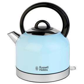 Russell Hobbs COMBO-3389 Oslo Traditional Kettle and Four Slice Toaster Breakfast Set, Blue Thumbnail 4