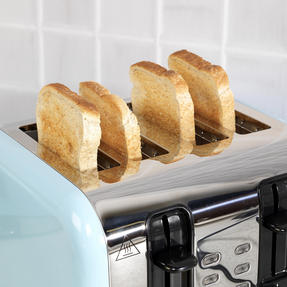 Russell Hobbs COMBO-3389 Oslo Traditional Kettle and Four Slice Toaster Breakfast Set, Blue Thumbnail 9