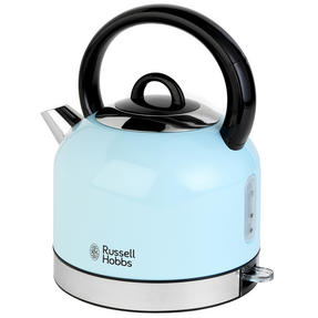 Russell Hobbs COMBO-3389 Oslo Traditional Kettle and Four Slice Toaster Breakfast Set, Blue Thumbnail 11