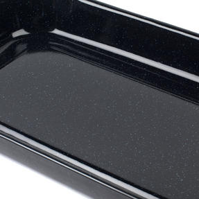 Salter BW001211CDS Vitreous Enamel Grill Pan With Rack, 38 cm x 23 cm x 4 cm Thumbnail 10
