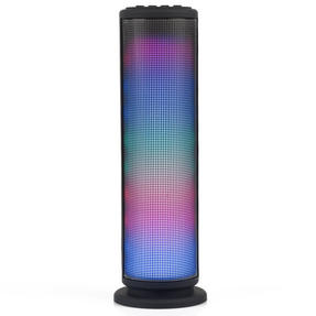 Intempo EE2928BLKSTK LED Light Tower Speaker, AUX, Bluetooth for iPhone, iPad, Samsung Galaxy, Android and other Smart USB Devices, 3 W, Black Thumbnail 1
