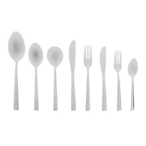 Salter Knutsford 44 Piece Cutlery Set, Stainless Steel, 15 Year Guarantee Thumbnail 1