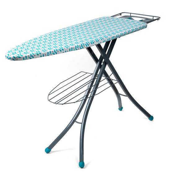 Beldray Collapsible Ironing Board, 126 x 45 cm, Teal Thumbnail 2