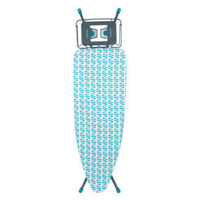 Beldray LA024435LAUEU Collapsible Ironing Board, 126 x 45 cm, Teal
