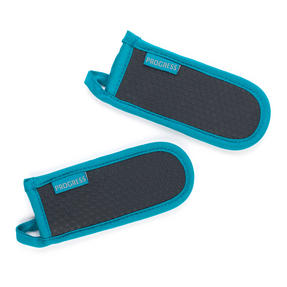 Progress Set of 2 Neoprene Pan Handle Sleeve Covers, Teal