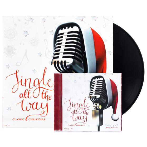 Jingle All the Way Classic Christmas, Remastered CD and 12? Vinyl LP Bundle