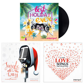Intempo Christmas, Love Songs and Summer Holiday Collections, 3 x Remastered 12 Inch Vinyl LP Bundle ? COMBO-3453 Thumbnail 1