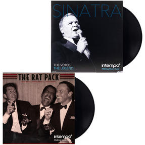 The Rat Pack and Frank Sinatra Collection, Two Remastered 12 Inch Vinyl LP Bundle COMBO-3456 Thumbnail 1