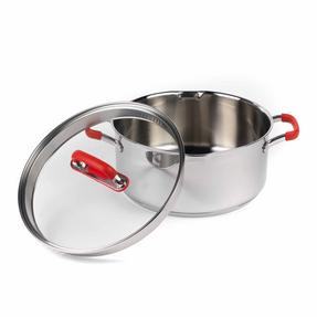 Pyrex COMBO-3401 Passion Stainless Steel Casserole Dishes with Lids, 20/24 cm Thumbnail 4