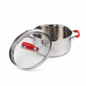 Pyrex COMBO-3401 Passion Stainless Steel Casserole Dishes with Lids, 20/24 cm Thumbnail 7